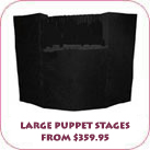 Large Puppet Stages From $359.95