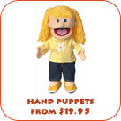 Hand Puppets From $19.95