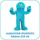 Monster Puppets From $19.95