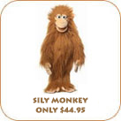 Silly Monkey Only $44.95