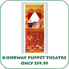 Doorway Puppet Theater Only $59.95