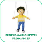 People Marionettes From $14.95